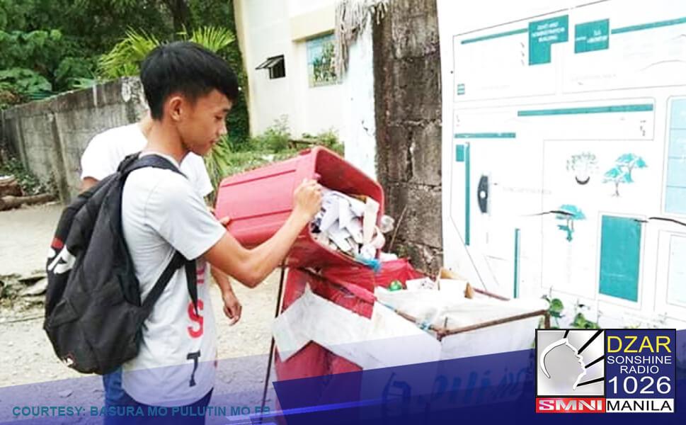 MMDA hinimok ang mga residente sa NCR na maging responsable sa pagtapon ng basura ngayong tag-ulan.