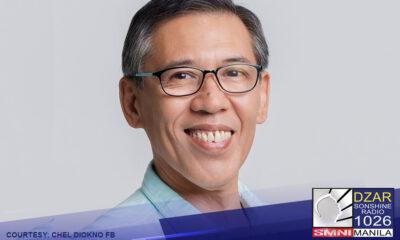 Inanunsyo ni Human Rights Lawyer Chel Diokno na tatakbo ito sa susunod na halalan.