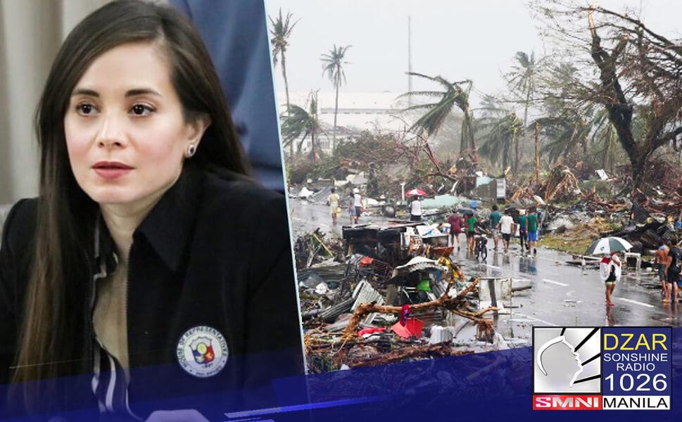 Nanawagan si Leyte 4th District Rep. Lucy Torres-Gomez kay Pangulong Rodrigo Duterte na sertipikahang urgent ang House Bill 5989 o ang Department of Disaster Resilience o DDR Bill.