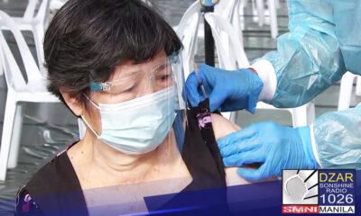 Maari nang lumabas ng kanilang mga bahay ang mga fully vaccinated na senior citizens na nasa General Community Quarantine (GCQ) at Modified GCQ areas.