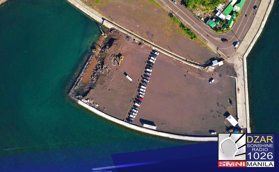"""Itatayo na ng Department of Public Works and Highways (DPWH) ang International cruise terminal sa tinaguriang """"Gateway City of Bicol"""" sa lungsod ng Legazpi."""