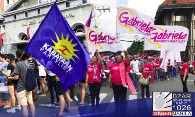 May nilabag ang Kabataan at Gabriela Partylist sa konstitusyon ng bansa ayon sa National Task Force to End Local Communist Armed Conflict (NTF-ELCAC).