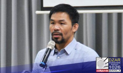 Tinanggap na ni Senator Manny Pacquiao ang hamon ni Pangulong Rodrigo Roa Duterte na pangalanan ang mga ahensya na may katiwalian