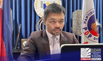 Good luck!Ito ang muling sinabi ni dating Senate President Juan Ponce Enrile kaugnay sa mga ginagawang hakbang ni Senator Manny Pacquiao