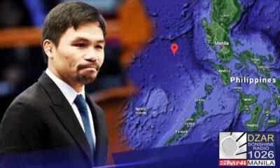 Pinagsabihan ni Pangulong Rodrigo Duterte si Senator Manny Pacquiao na mag-aral muna ito kasunod ng pambabatikos nito sa paninindigan ng pangulo sa usapin sa West Philippine Sea.
