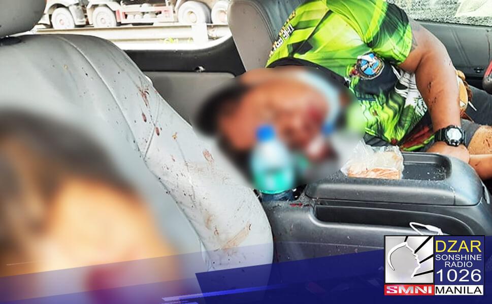 Kinumpirma ni (NCRPO) Chief General Vicente Danao Jr., ang shooting incident na naganap sa South Luzon Expressway (SLEX) sa Calamba, Laguna.