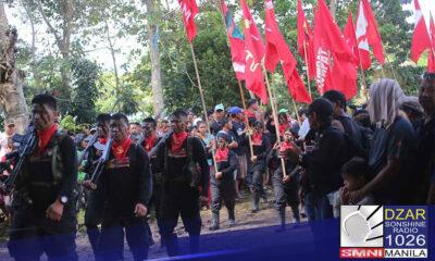 75% na miyembro ng NPA sa Mindanao, IPs – Esperon