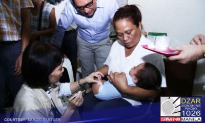 Pinapurihan ng World Health Organization (WHO) ang polio vaccination program ng Pilipinas dahil naging matagumpay ito kahit na may COVID-19 pandemic.
