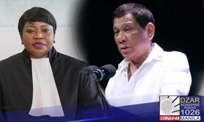 Nakakuha na ng kopya si Pangulong Rodrigo Duterte kaugnay sa kasong human rights violation na inihain laban sa kaniya sa International Criminal Court (ICC).