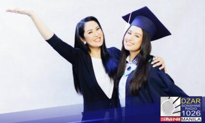 Ruffa Gutierrez binagyang pugay ang mga single mother kasabay ng pagdirawang sa graduation ng kanyang anak na si Lorin