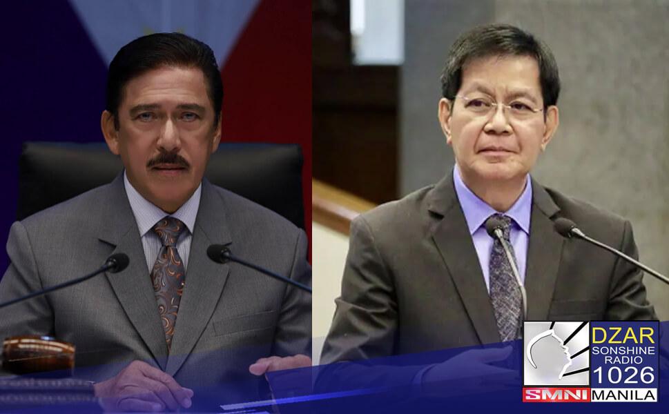 """Kinumpirma ni Senate President Vicente """"Tito"""" Sotto III na tuloy na sa 2022 ang Lacson-Sotto Tandem."""