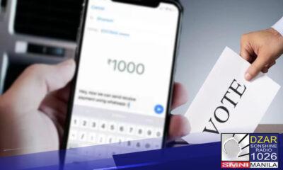 Digital vote buying, pinatututukan sa PNP ACG at CIDG