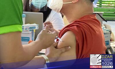 Nasa 0.0017% lamang mula sa 13.87 milyong fully vaccinated individuals ang tinamaan ng COVID-19 hanggang Agosto 29.