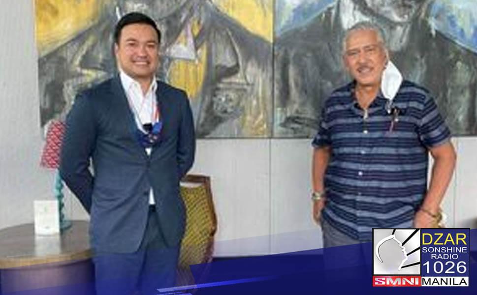 """Nagpulong ngayong araw sina House Speaker Lord Allan Velasco at Senate President Vicente """"Tito"""" Sotto III para pag-usapan ang mga nakabinbing panukala sa Kongreso."""