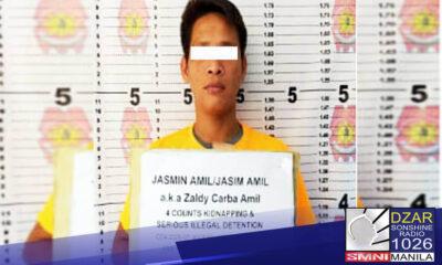 Kidnapping suspect na umano'y konektado sa Abu Sayyaf, arestado sa Zamboanga City