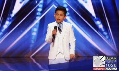 Audition ng 10-anyos na si Peter Rosalita, binigyan ng standing ovation sa America's Got Talent
