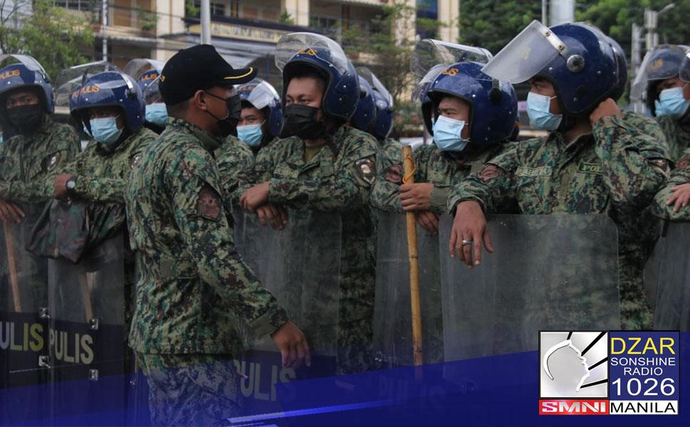 Maximum tolerance, paiiralin sa kilos-protesta sa huling SONA ng Pangulo