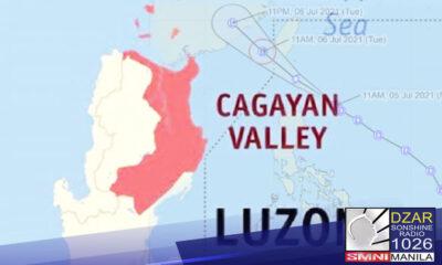 Inilagay na ng Office of the Civil Defense (OCD) sa blue code alert ang Cagayan Valley ngayong Lunes, Hulyo 5 dahil sa bagyong Emong.