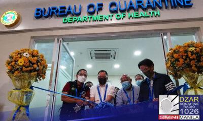 Binuksan na ngayong araw, ika-15 ng Hulyo, ang satellite vaccination center ng Bureau of Quarantine sa SM Mall of Asia.