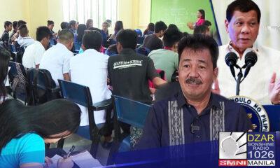 Naniniwala si Commision on Higher Education (CHED) Chairman Prospero de Vera na ang libreng edukasyon ang pinakalegasiya ni Pangulong Duterte