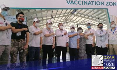 Patuloy ang pagbabakuna sa hanay ng business sector sa ilalim ng Federation of Filipino Chinese Chambers of Commerce and Industry, Inc. (FFCCCII) na isinagawa sa kanilang vaccination site sa Tondo, Maynila.