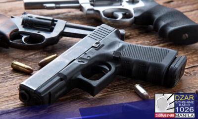 Mahigit 2 milyon firearms ang nakarehistro sa bansa ayon kay Pnp Chief Police General Guillermo Eleazar.
