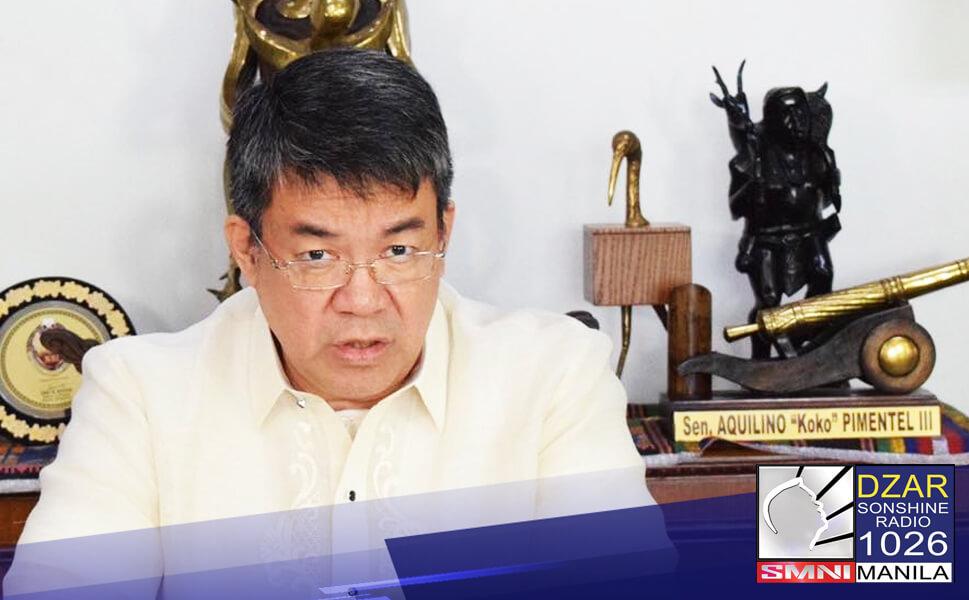 Tahasang sinabi ni Pangulong Rodrigo Duterte na mali si Sen. Koko Pimentel nang italaga niya si Senador Manny Pacquiao bilang kapalit nito PDP-Laban.