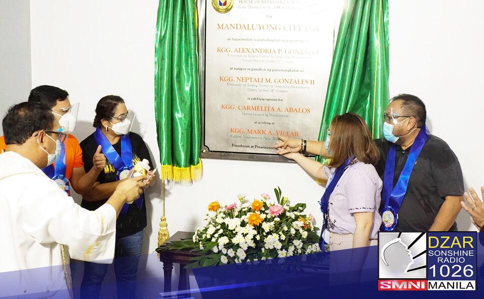 Pinangunahan kamakailan ni Mandaluyong Lone District Rep. at Deputy Speaker Neptali 'Boyet' Gonzales ang pagbubukas ng P516-M na Modern City Jail Project.
