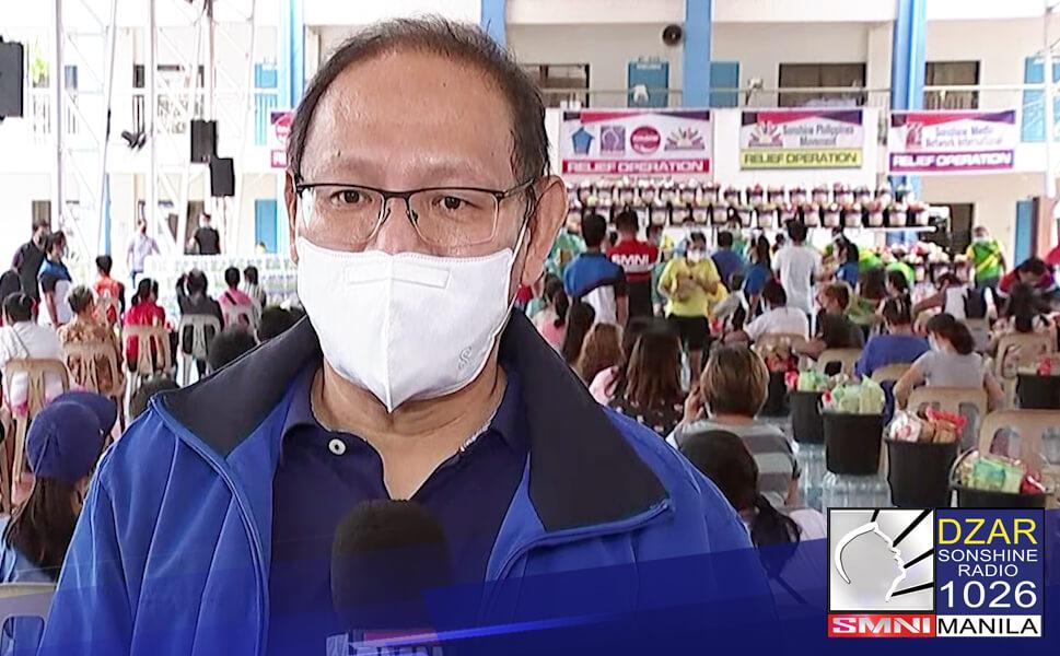 Nagpaabot ng pasasalamat ang Marikina LGU kay Pastor Apollo C. Quiboloy sa pagpapadala nito ng tulong sa mga naapektuhan ng bagyong Fabian.