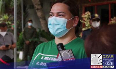 Mas magandang sumama sa presidential race si Davao City Mayor Sara Duterte. Ito ang malinaw na sinabi ni political analyst at professor Clarita Carlos