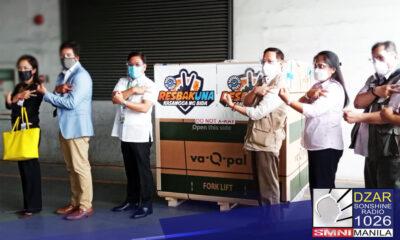 Dumating na sa bansa ang mahigit 250,000 doses ng Us-made Moderna Vaccine ngayong Huwebes.