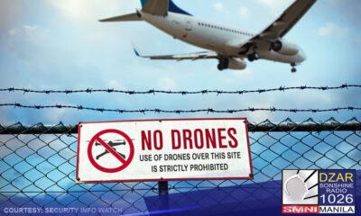 Nagpatupad na ng no-fly zone sa Batasang Pambansa Complex at mga katabing lugar ang Civil Aviation Authority of the Philippines (CAAP).