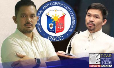 Sinabi ni Presidential Anti-Corruption Commission (PACC) Chairman Greco Belgica na 'medyo hilaw' pa ang mga akusasyon ni Senator Manny Pacquiao