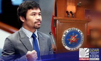 Ibinunyag ni Sen. Panfilo Lacson na determinado si Sen. Manny Pacquiao sa pagtakbo para sa pagkaPangulo sa taong 2022
