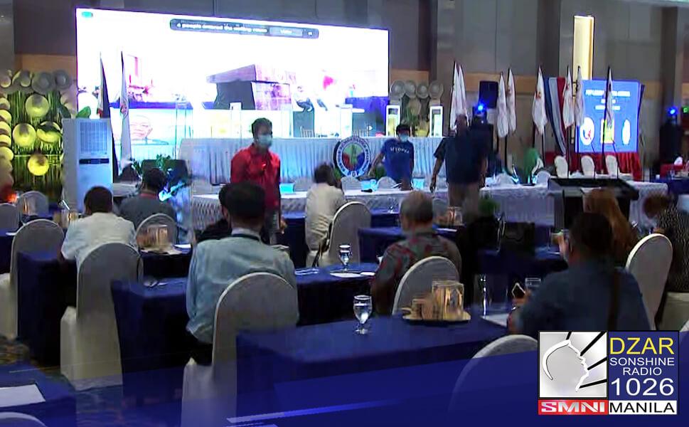 Dinagsa ng national council officers ang national council meeting ng PDP-Laban sa Clark Pampanga.Mahigit sa 140 national officers ang dumalo sa meeting