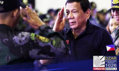 Personal na nagpasalamat ang ilang opisyal ng Philippine National Police ( PNP) sa malaking kontribusyon ni Pangulong Rodrigo Duterte