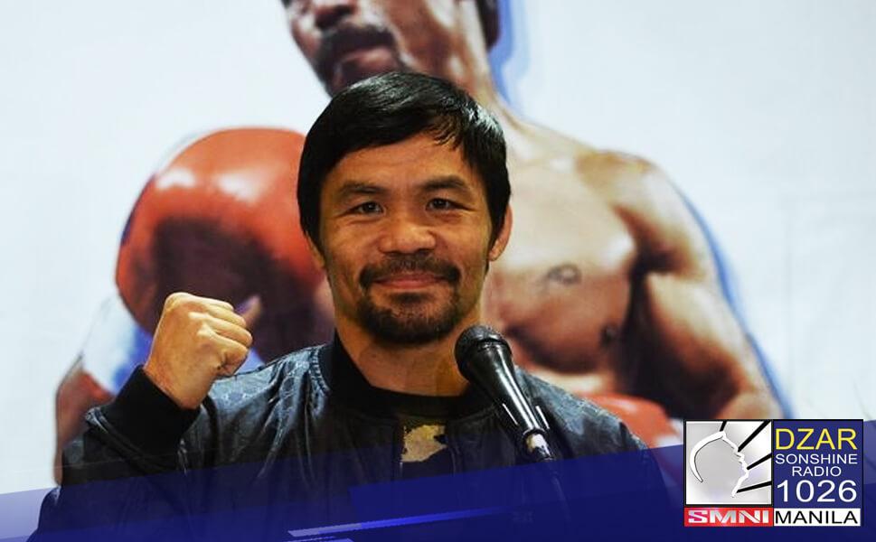 Opisyal ng inanunsyo ni Manny Pacquiao ang kanyang pagretiro sa boxing upang paghandaan ang kanyang pagtakbo sa pagkapangulo sa 2022 elections.