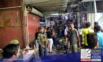 Nasa tatlumpu't limang katao ang nasawi habang 16 naman ang sugatan matapos ang nangyaring suicide bombing sa Sadr City sa bansang Iraq.