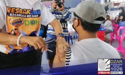 Mahigit 6-M Filipino, fully vaccinated na kontra COVID-19