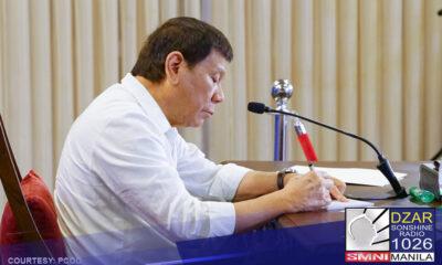 Mga nagawa ni Pangulong Duterte, taumbayan na ang bahalang humusga - Sen. Go