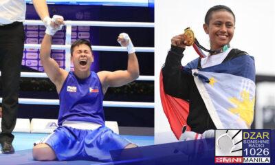 Natalo ni Filipina Boxer Nesthy Petecio ang isa sa top seed sa larangan ng female boxing na si Kun Yu-Ting ng Taipei sa iskor na 3-2 split decision win.