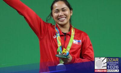 Malacañang, nagpaabot ng pagbati kay Olympic Gold Medalist Hidilyn Diaz