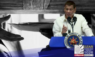 Mga korup na opisyal ng gobyerno, binalaan ni Pangulong Duterte