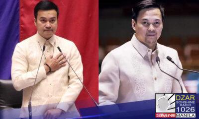 House Speaker Velasco At Deputy Speaker Romero, pinangunahan ang pagbubukas ng 3rd regular session ng Kamara