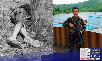 Mariing kinondena ang brutal na pamamaslang ng (NPA) sa isang army trooper na gumaganap sa isang peace and development initiatives sa Capiz