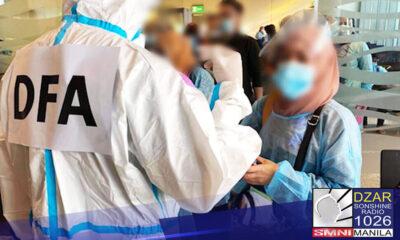 Dumating na sa bansa ang 35 Filipino na inilikas mula sa Afghanistan.