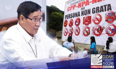 Nanganganib na bumalik muli sa pagiging rebelde ang 822 barangay sa bansa na nabawi na ng pamahalaan mula sa kamay ng CPP-NPA-NDF).