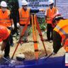 Aarangkada na ang konstruksyon ng 3 road concreting project sa ilalim ng programa ng NTF-ELCAC sa Mt. Province.
