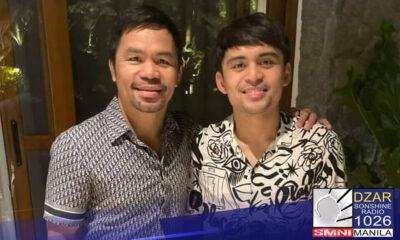 Inihalal ng bilang Chairman for Youth Affairs ng Labor Party of the Philippines (LPP) ang anak ni Sen. Manny Pacquiao na si Jimuel.