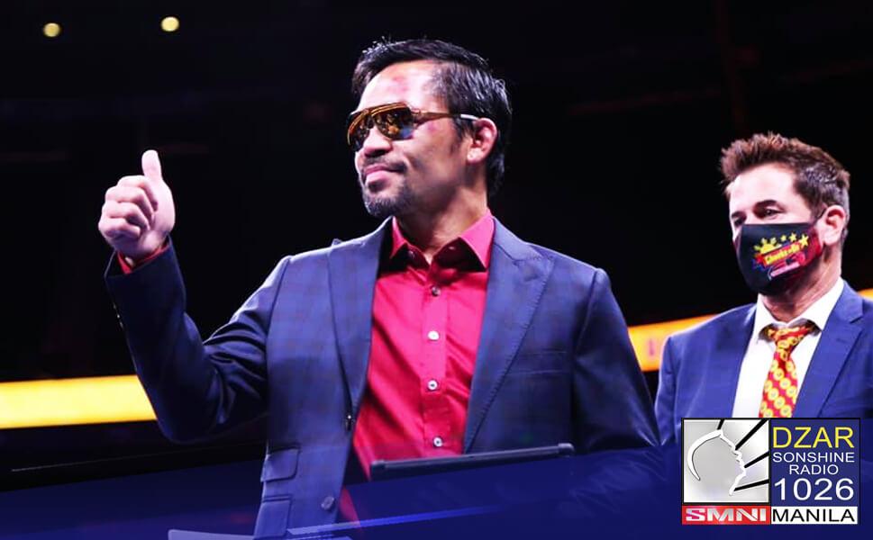 Ikinokonsidera ni Manny Pacquiao ang rematch kay WBA Champion Yordenis Ugas matapos ang pagkatalo ni sa Cuban boxer noong linggo.